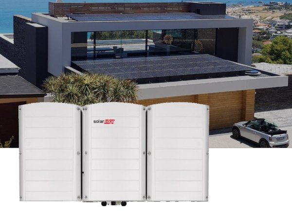 SolarEdge three phase inverters with synergy technology