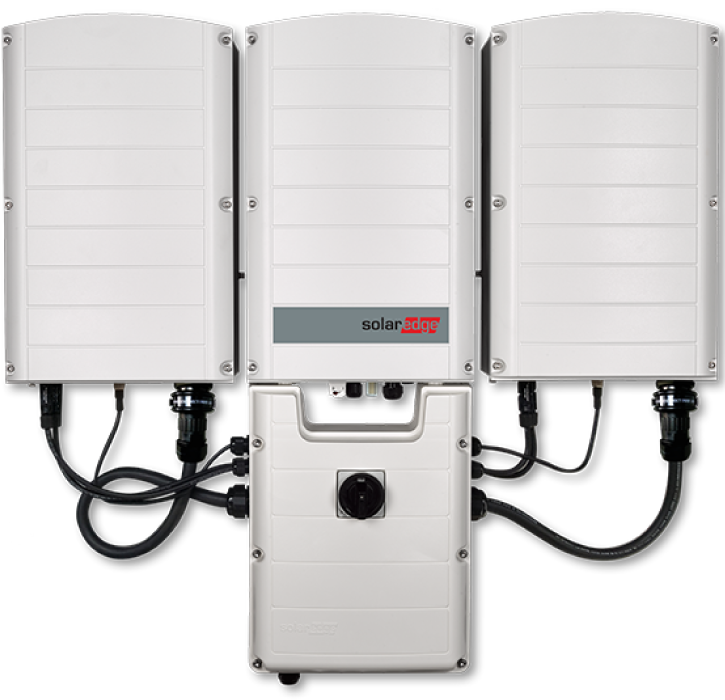 SolarEdge Three Phase Inverter with DC Protection