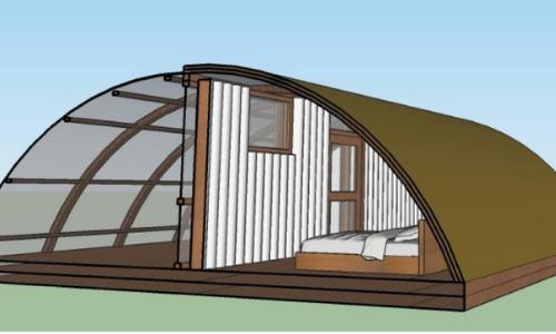 inside tent | Ornate Solar