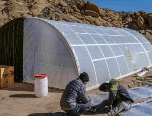 India's First Solar Heated Tent