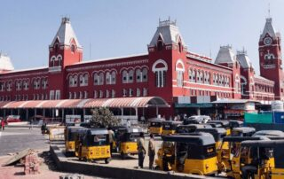Chennai's MGR Railway Station is now Fully Powered by Solar Energy