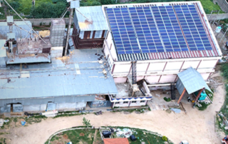 solar solution for rice mill